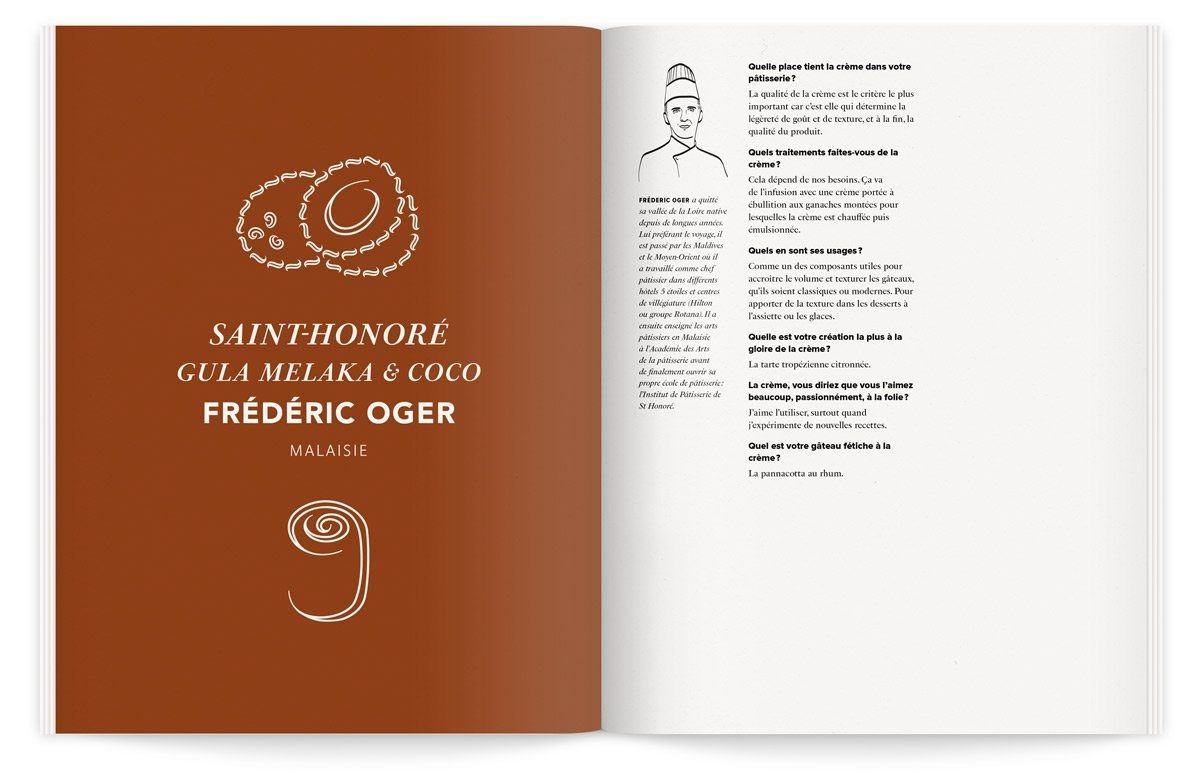 saint-honoré gula melaka coco ludovic audaux illustration ichetkar