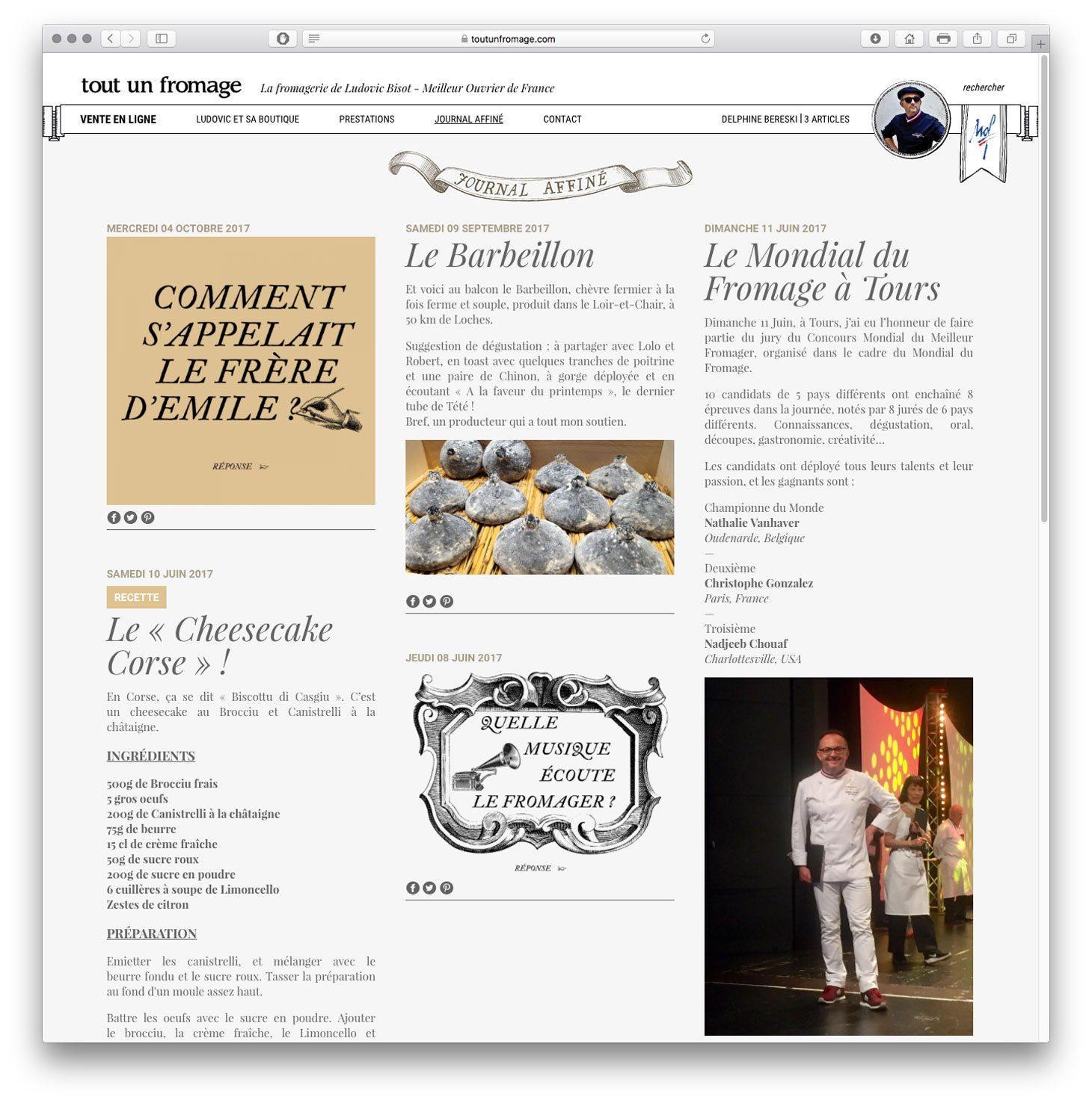 tout un fromage blog journal affiné ludovic bisot