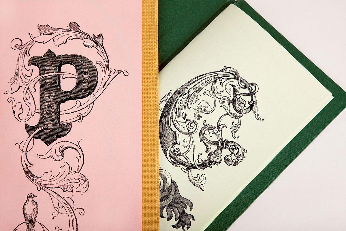 cartes cocktails sketch london détail parlour et glade gravures