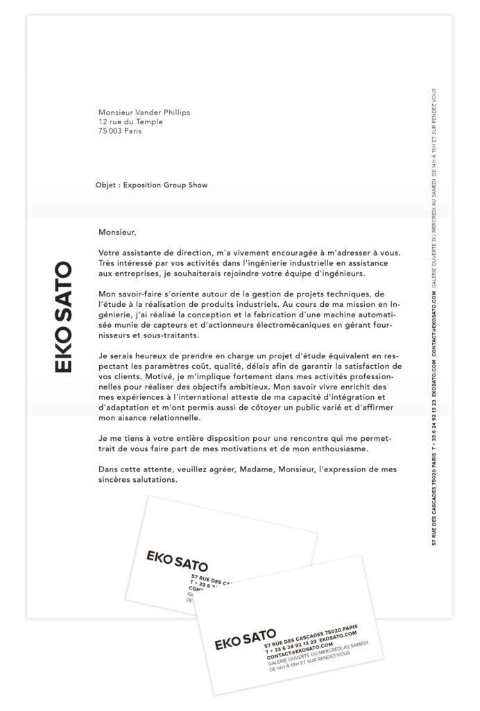 branding de la galerie d'art contemporaine par ich&kar