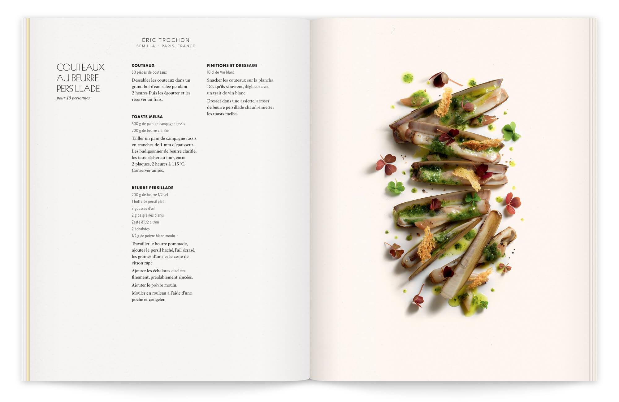 Ich&kar met son savoir-faire au service des secrets de beurres, et soigne tout les détails de la photographie, une composition comme un paysage et une photo sans assiette apporte de la modernité à la recette