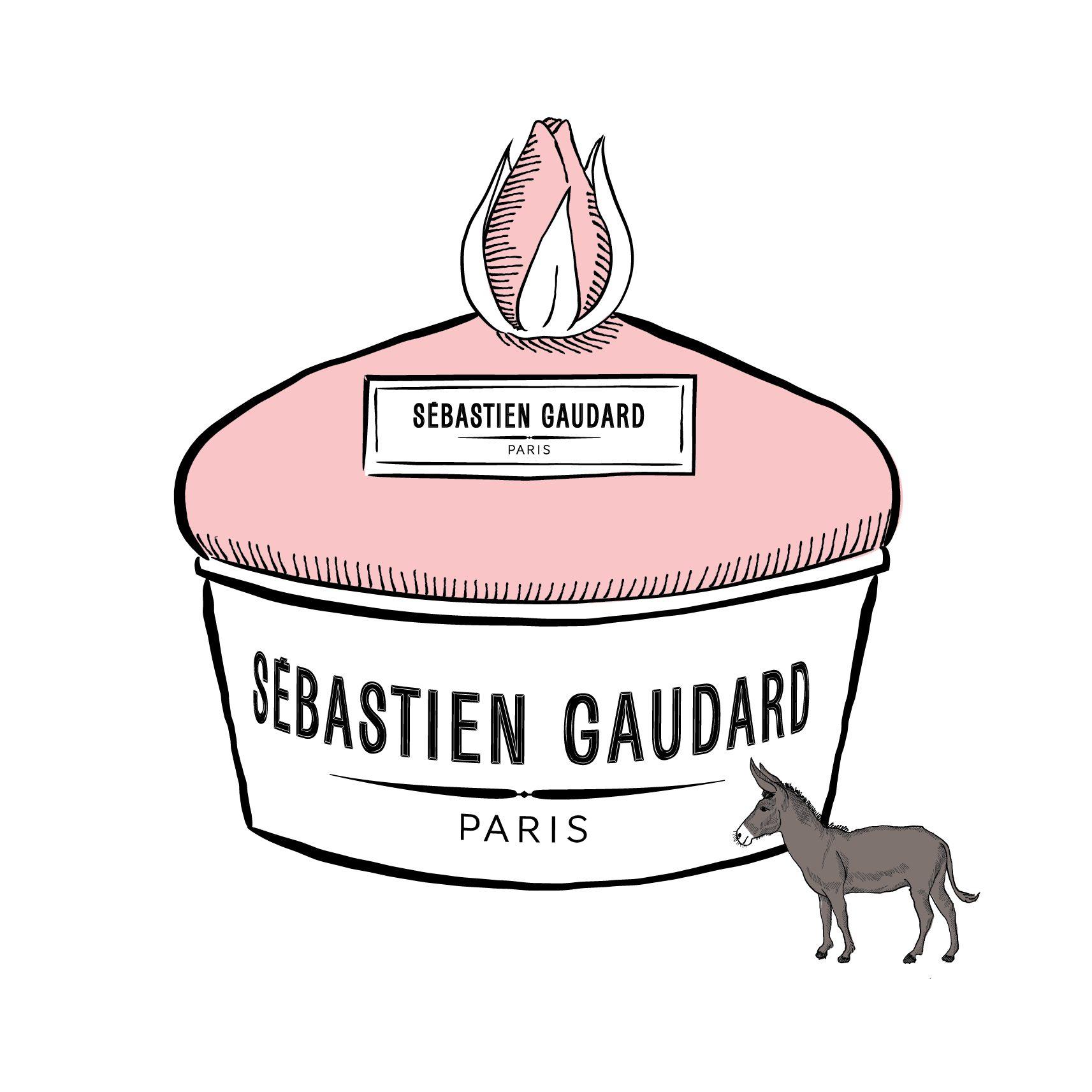 illustration du gâteau d'amour de sébastien gaudard par le studio ichetkar