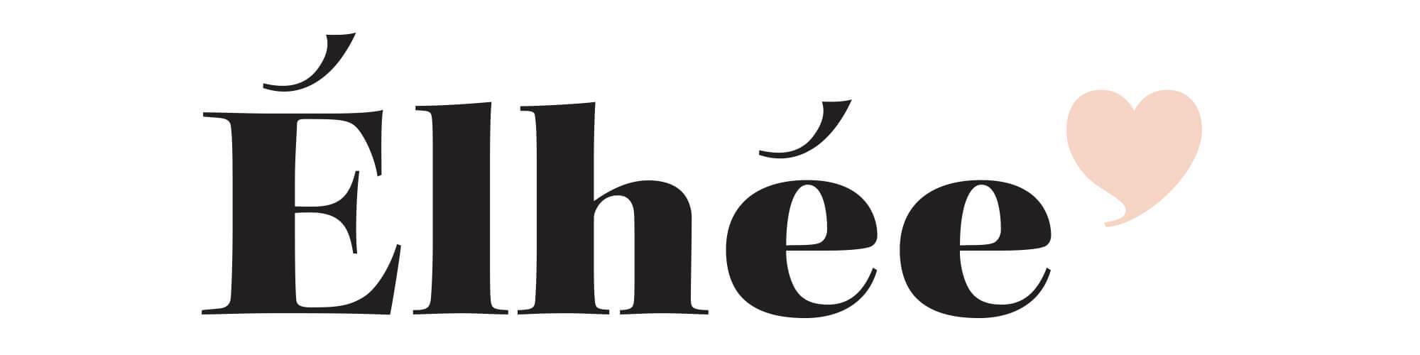 Logotype et stratéie de marque pour Élhée, nouvelle marque du secteur enfant par Ich&Kar