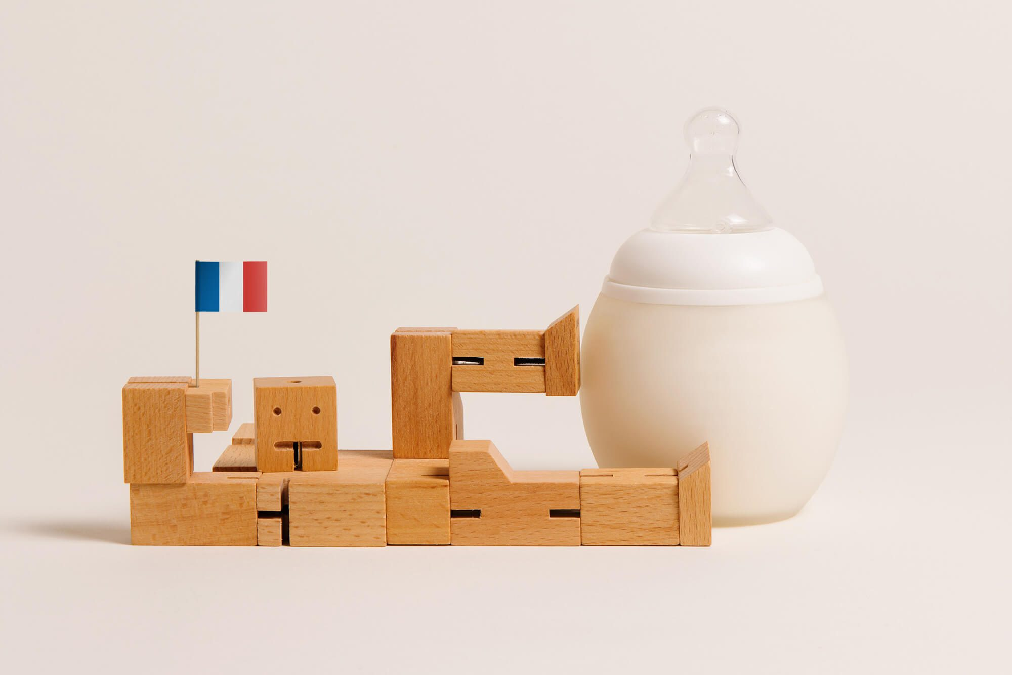 direction artistique ludique pour la marque de puericulture élhée, marque française