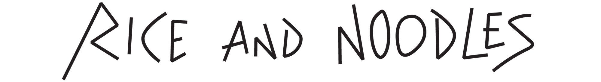 logo Rice and noodles pour le groupe Street BKK, design IchetKar