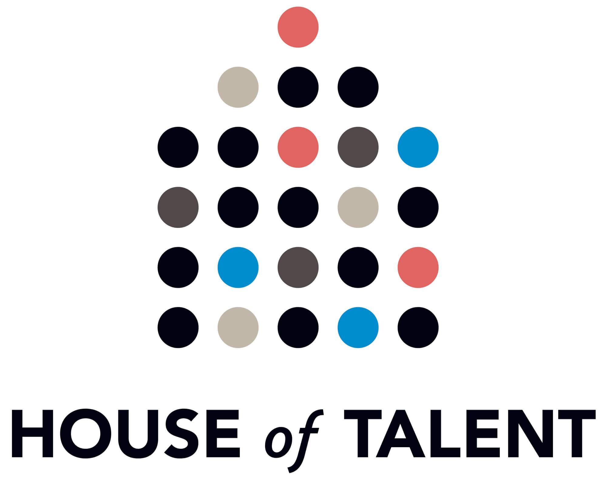 logotype dessiné par Helena Ichbiah pour House of talent, une galerie de photograpie contemporaine et numérique, parValerie Henry