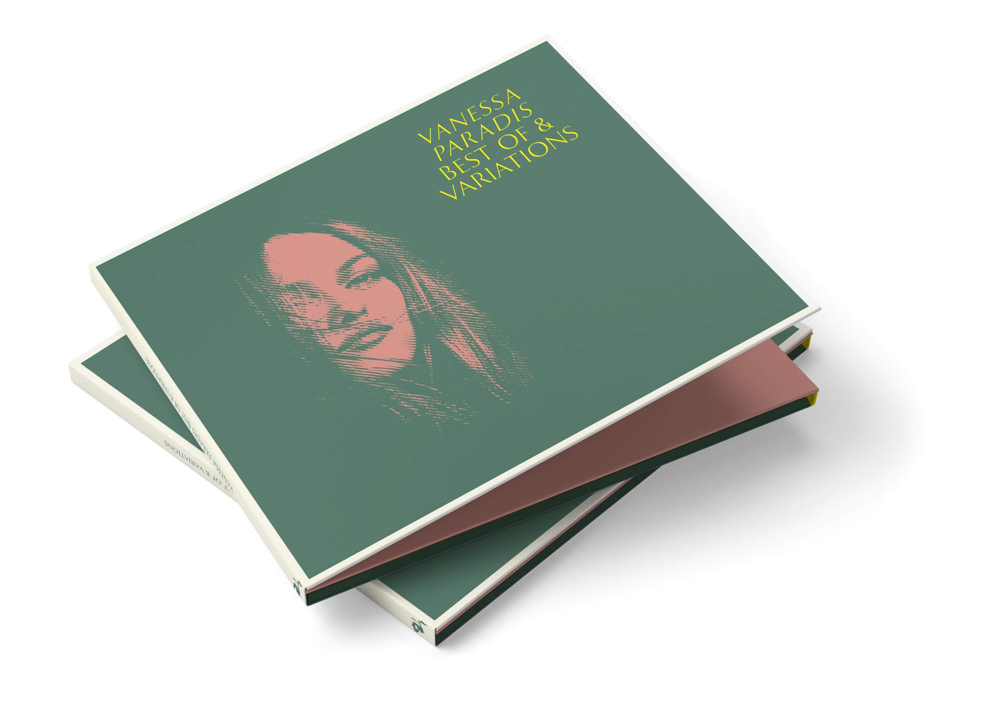 La couverture du double CD best of Paradis design par le studio IchetKar