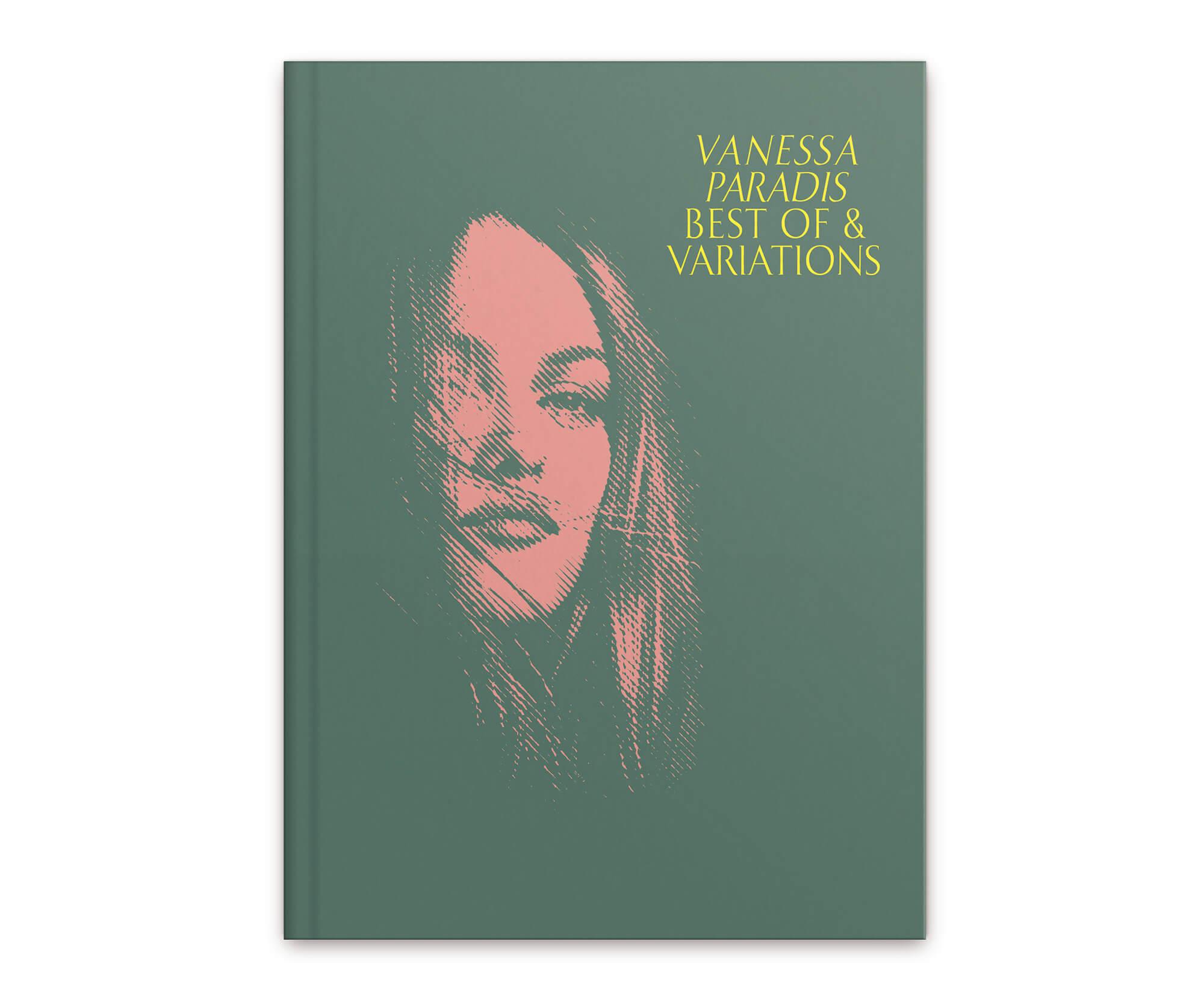 Couverture du livre disque collector pour la sortie du Best of de Vanessa Paradis, Edition design par IchetKar