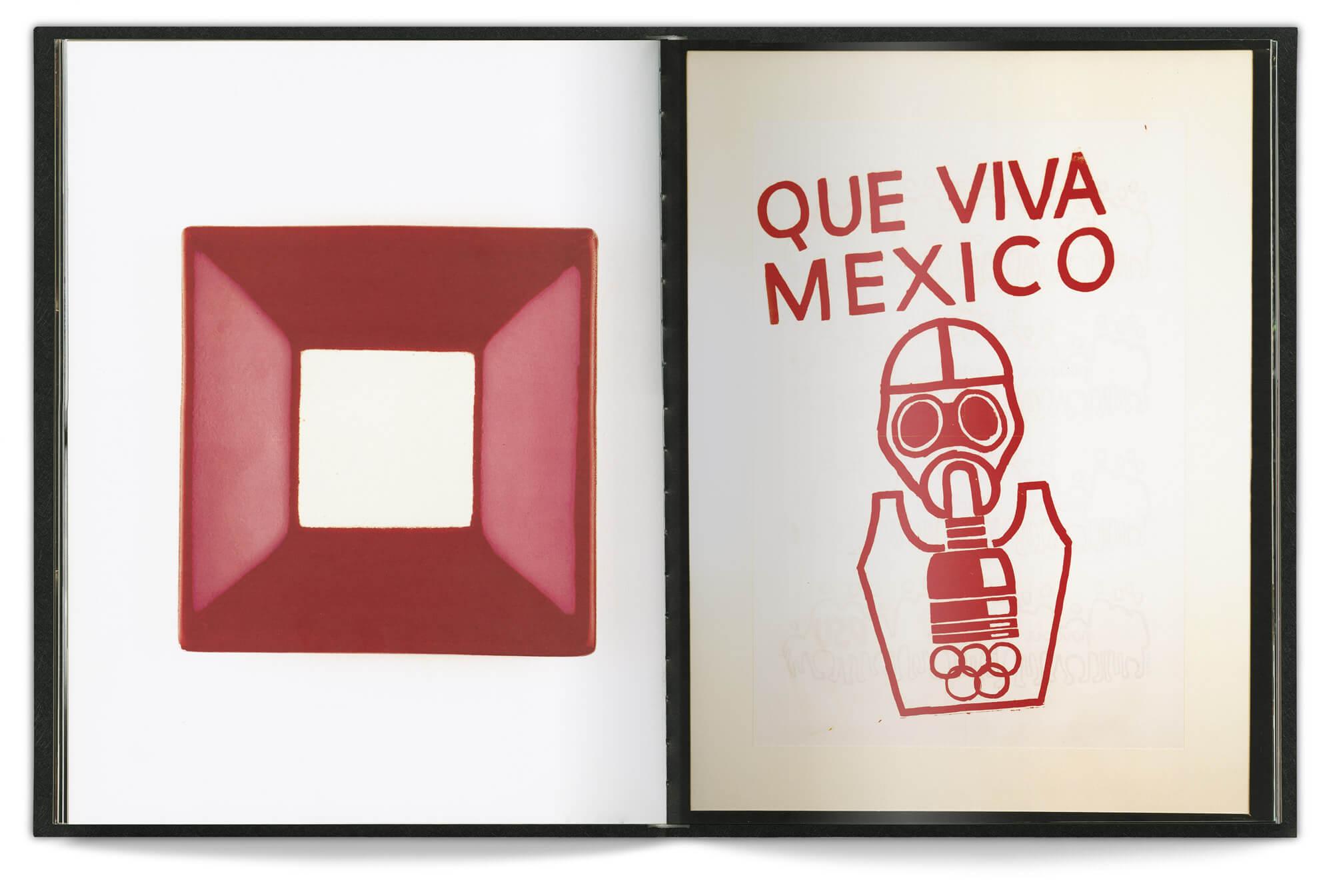 double page au couleur rouge et blanche pour le livre Chic by accident de 2011, design et mise en page Helena Ichbiah
