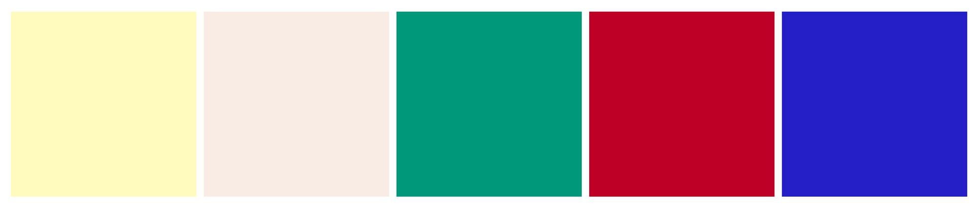 Le studio graphique IchetKar recommande une palette de couleurs pour l'identité visuelle de l'agence de conseil en stratégie Adam Bantoo