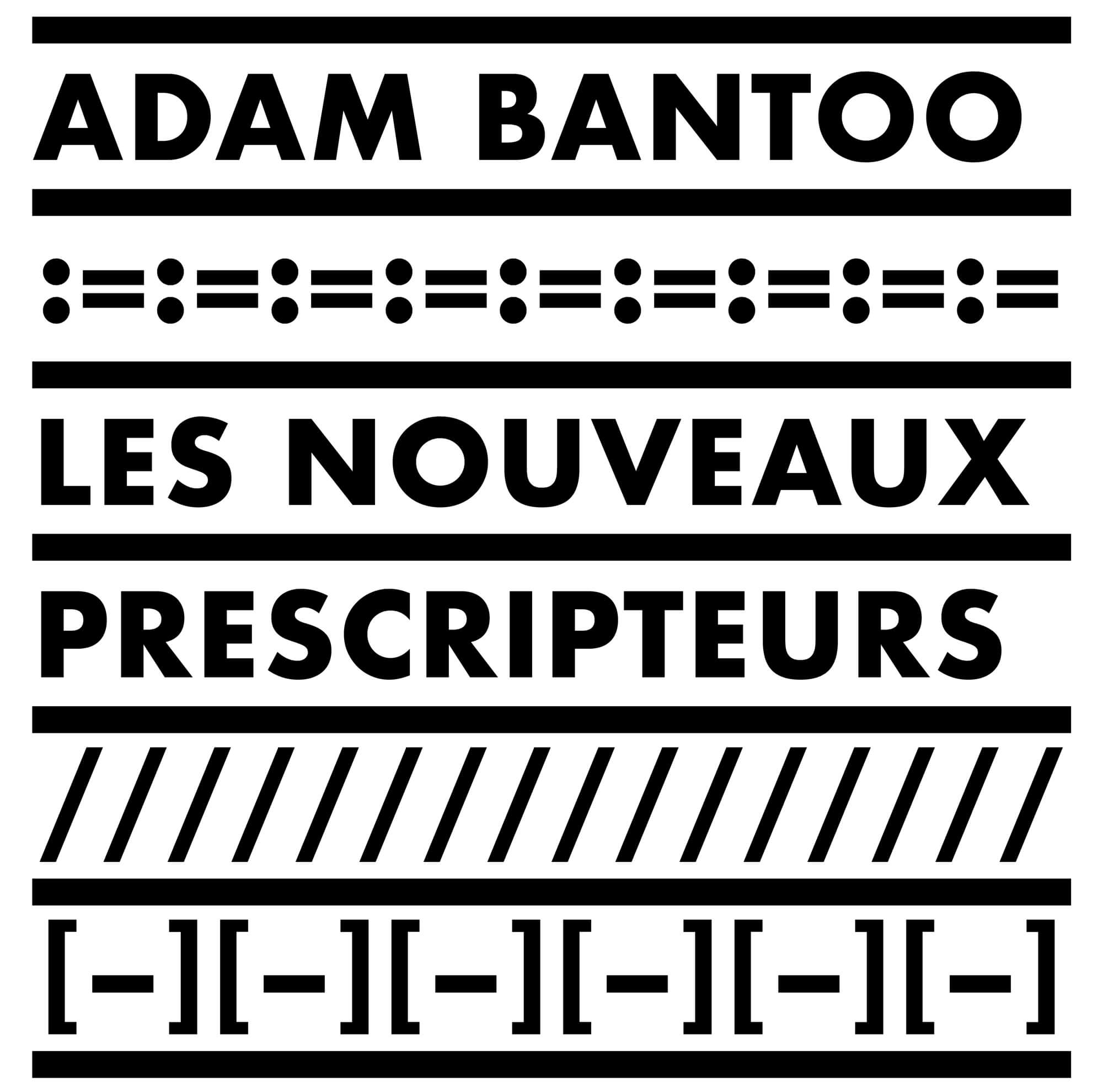 une identité afro-ascii Le studio IchetKar dessine une série de motifs typographique pour l'agence de conseil en stratégie Adam Bantoo
