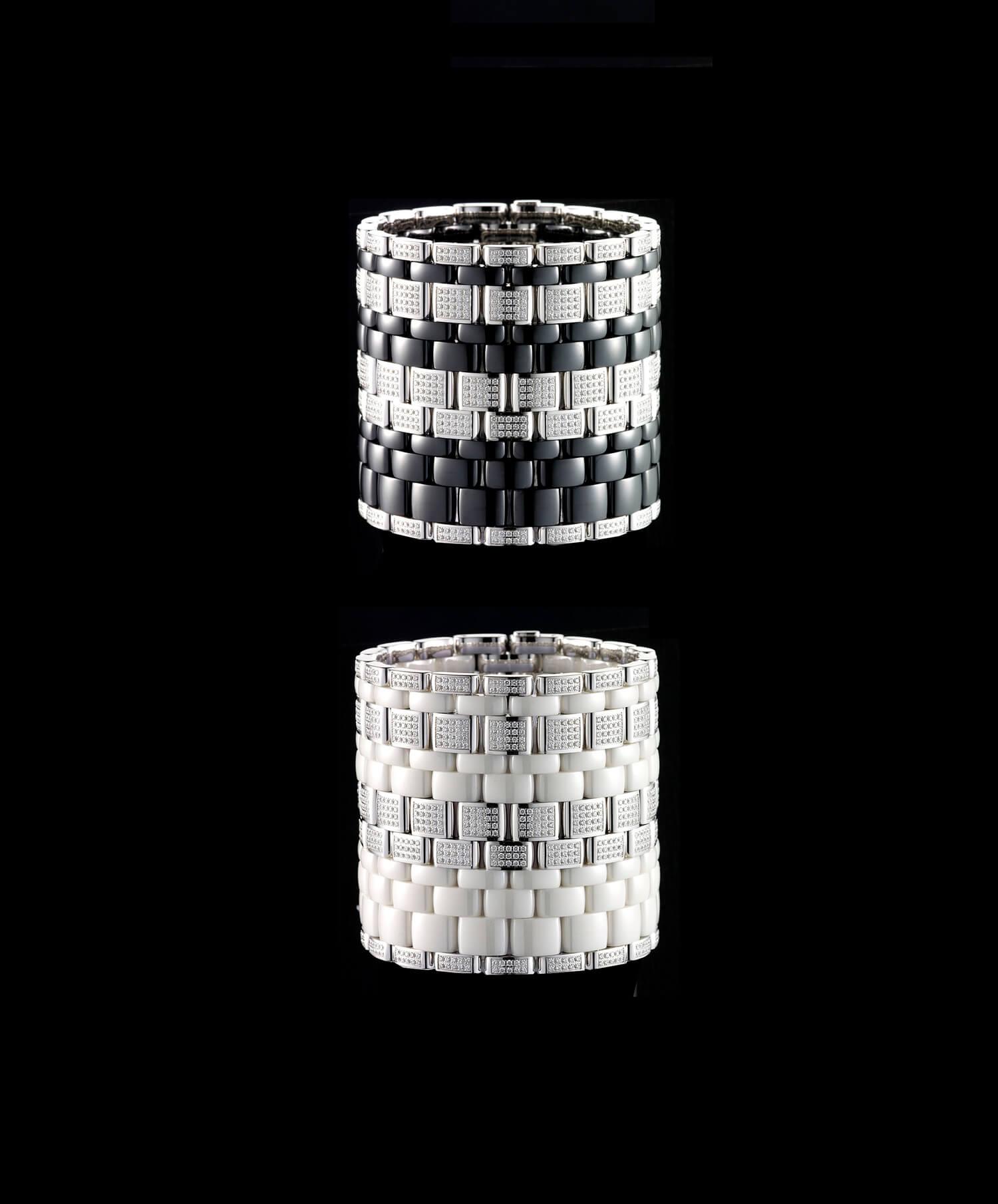 Les bracelets Chanel Ultra photographié par Jean-jacques Pallot, direction atistique de la photo IchetKar