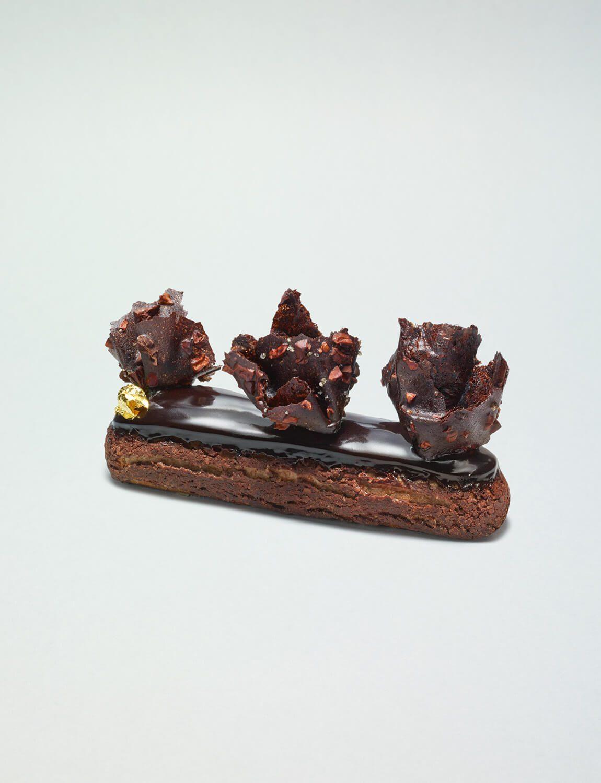 da photo ich&kar Éclair au chocolat du PérouCédric Grolet