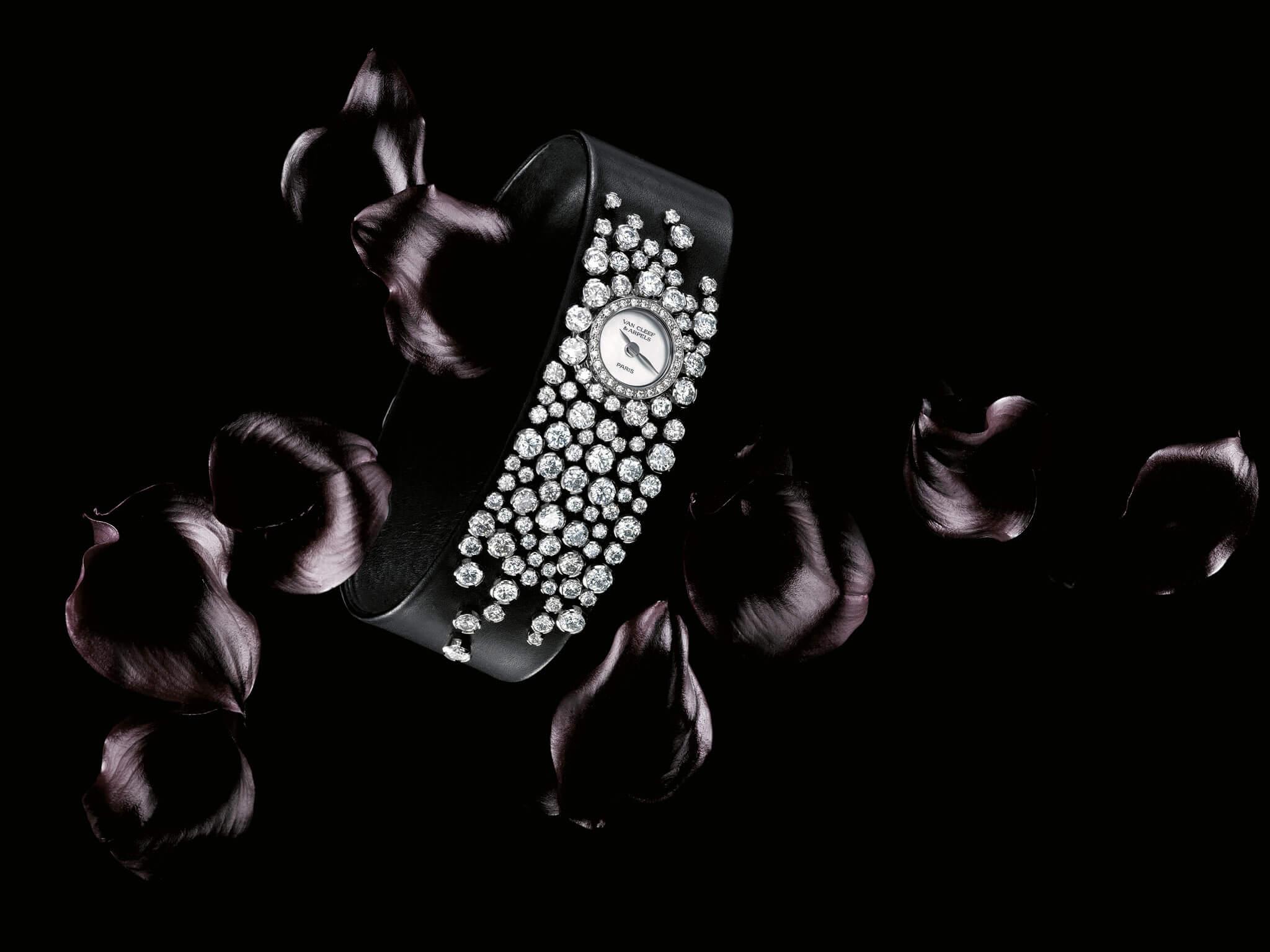 da photo Ich&kAr Van Cleef & Arpe Rosée de diamants stylisme Yoko Nakamura - Photo JJ Pallot