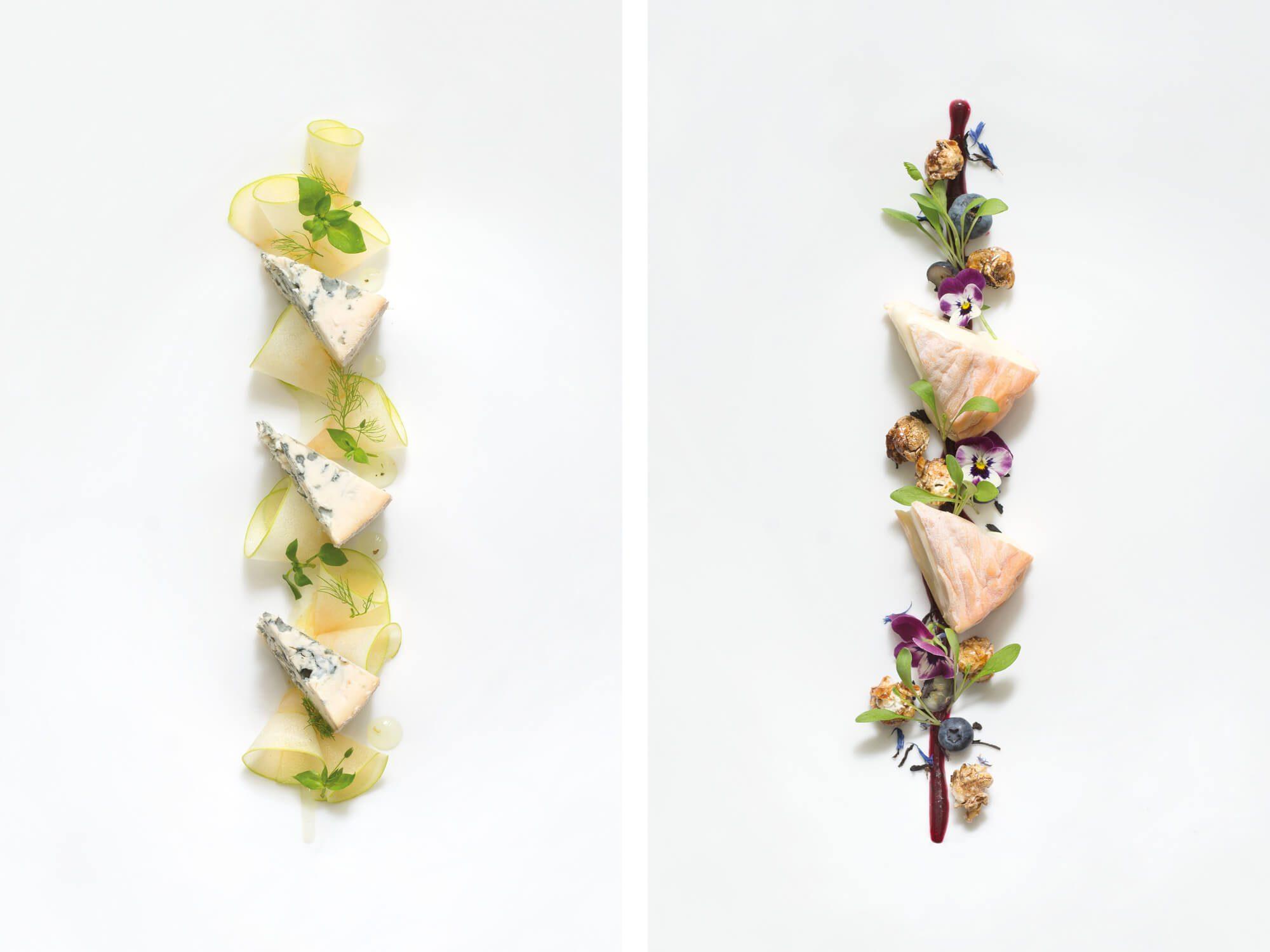 Ichetkar s'occupe de la direction artistique photo sur les recettes de fromages de Valentin NeraudeauDu fromage
