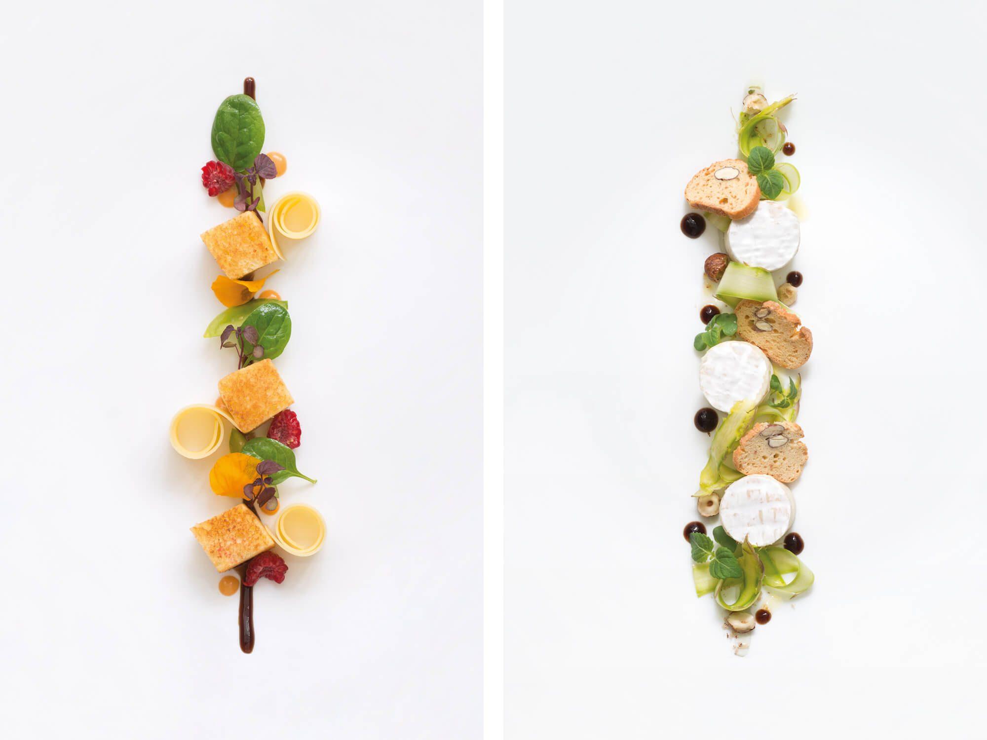 Helena Ichbiah assure la direction artistique des photographie de la serie Du fromage Pour distraire le repas, recette de Valentin Neraudeau