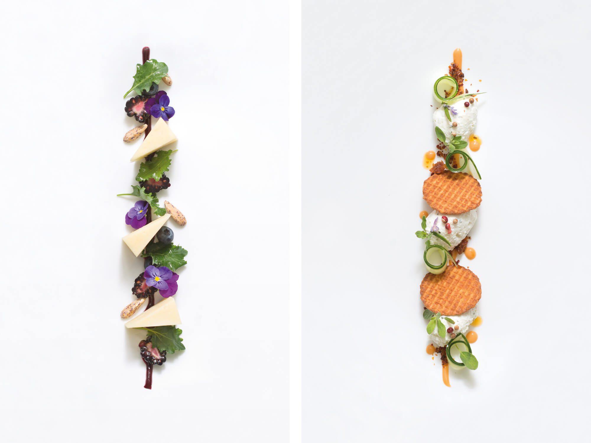 Les recettes de fromages pour le dessert de Valentin Neraudeau ont une direction atistique signée IchetKar